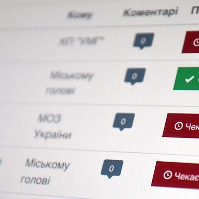 Сергій Нагорняк - Депутатські звернення
