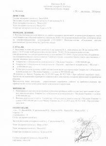 Протокол засідання тендерного комітету Вишнівська міська лікарня