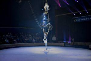Вишнивчяни у цирку Кобзов