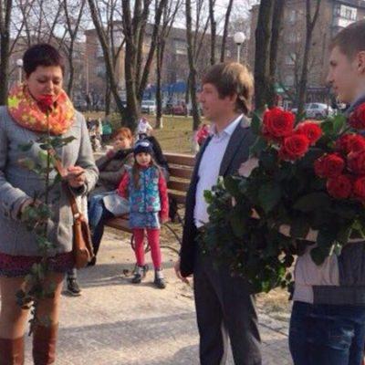 Сергій Нагорняк привітав з восьмим березня