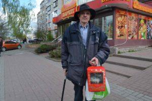 Сергій Нагорняк привітав пенсіонерів Вишневого з Великоднем