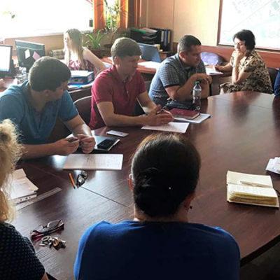 зібрання робочої групи з передачі приміщення Інституту ФФП