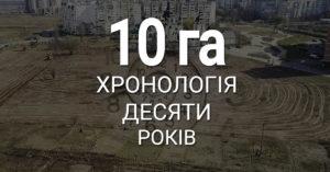 Хронологія подій міста Вишневе