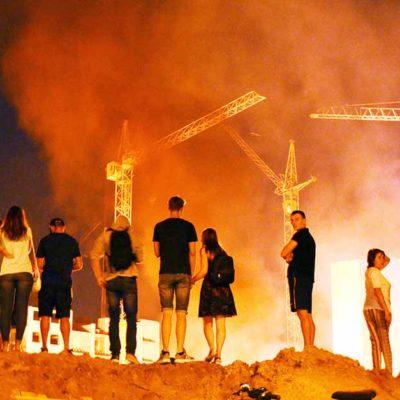 пожар Вишневе нелегальна забудова